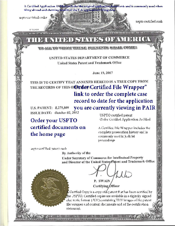 USPTO Certified Order Rush File History.pdf